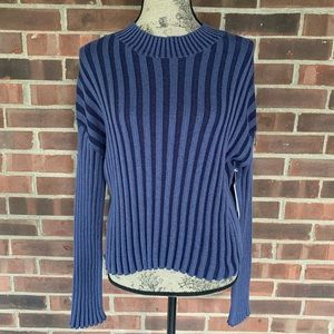 NWT Nordstrom BP shadow rib cropped sweater